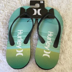 Hurley One & Only Icon Flip-Flop Size 9 NEW